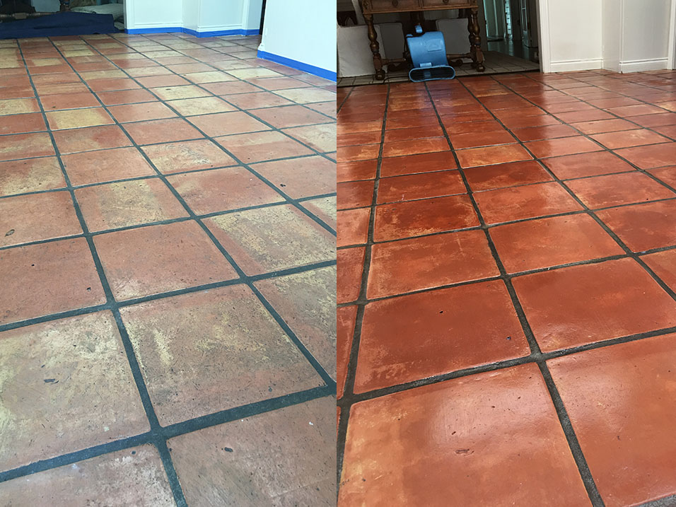 Clean concrete floor before tiling floors doors for Mop for concrete floors